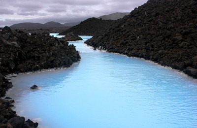 Family vacation to iceland geothermal spa