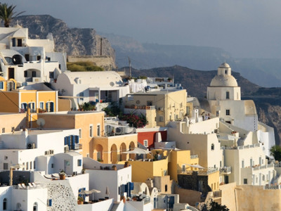 santorini greece family vacation