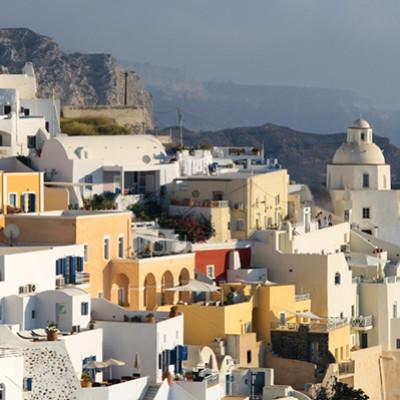 santorini greece family vacation