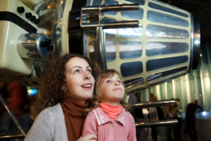 visiting museum with kids